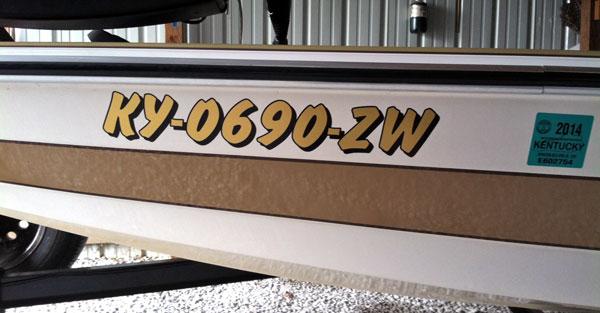 Vinyl Lettering Custom Vinyl Boat Lettering Boat