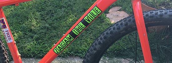 custom vinyl bicycle decals