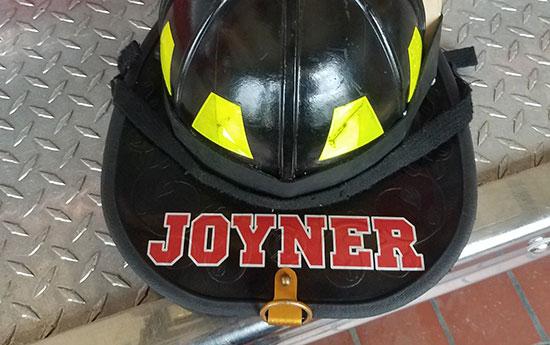 Helmet lettering custom vinyl letttering for Fire helmet name lettering